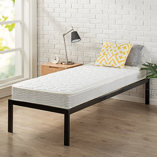 "Zinus Modern Studio 14 Inch Platform 1500 Metal Bed Frame, Cot size, 30"" x 75"", Mattress Foundation, no Boxspring needed, Wood Slat Support, Good Design Award Winner, Narrow Twin by Zinus (Image #5)"