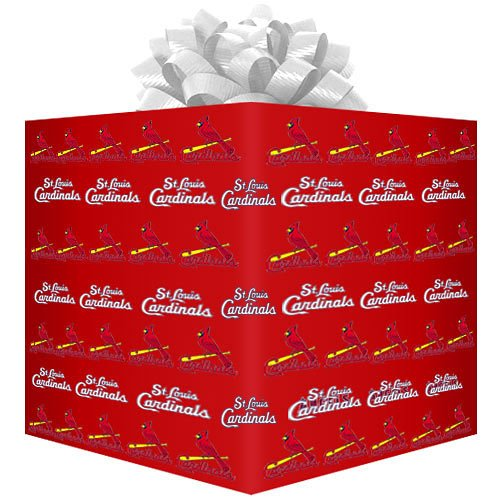 MLB St. Louis Cardinals Wrapping Paper, Health Care Stuffs