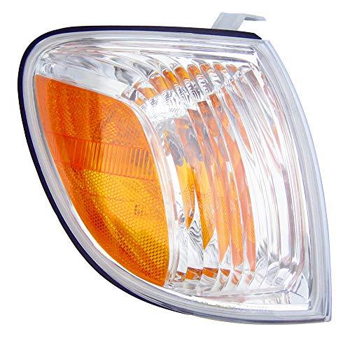 For 2005 2006 Toyota Tundra Regular/Access Cab Turn Signal Corner Light Lamp Passenger Side Replacement ()