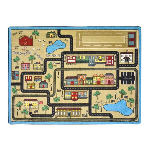Just for Kids Tiny Town Area Rug, 10'9 x 13'2