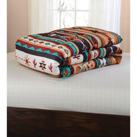 Mainstays Kokopeli Bed in a Bag Coordinated Bedding Set