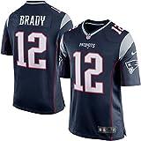 "Nike (Not Fake ""On-Field"" or NFL Brands) NFL New England Patriots Tom Brady Jersey Navy"