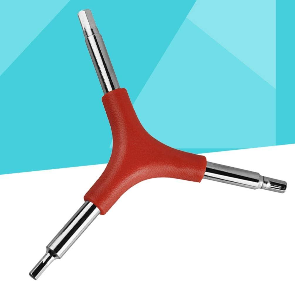 LIOOBO 3 Pcs Cl/é Allen Durable En Y Portatif Cl/é Allen Cl/é Hexagonale Outil pour V/élo R/éparation V/élo Maison