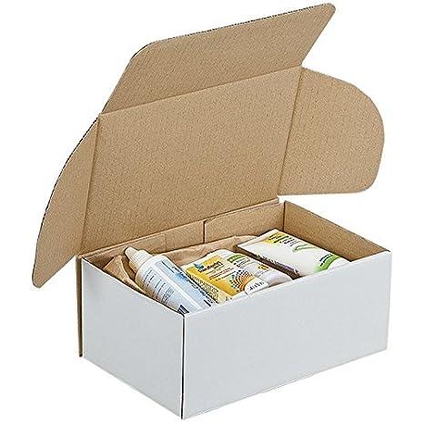 Propac z-boyfw252010 caja troqueladas, blanco, 25 x 20 x 10 cm, paquete de 50: Amazon.es: Industria, empresas y ciencia