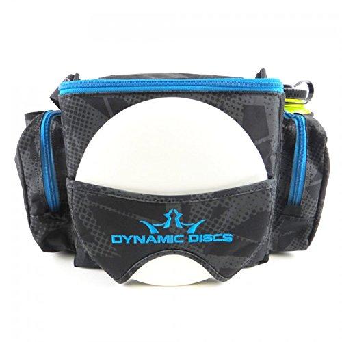Dynamic Discs Soldier Disc Golf Bag with Adjustable Shoulder Strap and Padding - Mesh Pocket, Internal U-Shaped Frame - 2 Dividers