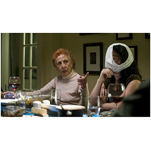 Ann Morgan Guilbert 8 Inch x 10 Inch PHOTOGRAPH Elect Give (2010) Seated at Table Pointing Finger kn
