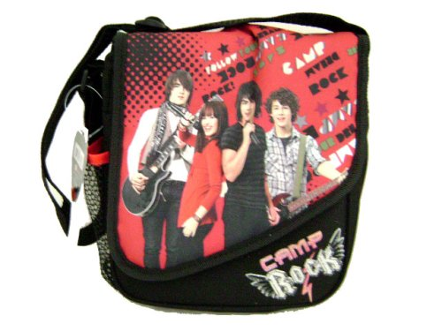 Camp Rock Jonas Brothers Lunch Bag Insulated Lunchbox (Jonas Brothers Rock)