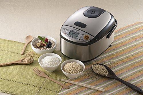 Large Product Image of Zojirushi 604976-NS-LGC05XB NS-LGC05XB Micom Rice Cooker & Warmer, 11.9 x 9.1 x 7.5