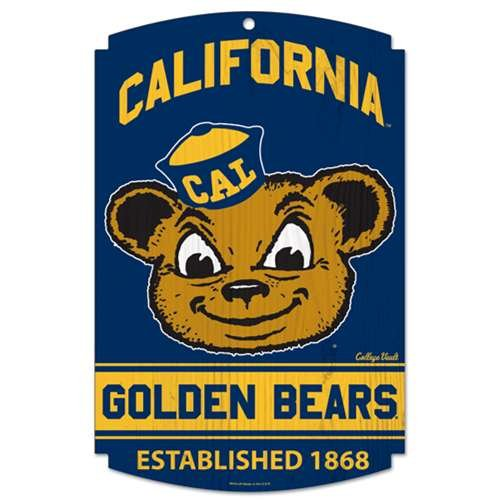 NCAA Wood Sign Team: California College Vault