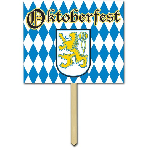 Oktoberfest Yard Sign Party Accessory (1 (Wooden Halloween Yard Signs)