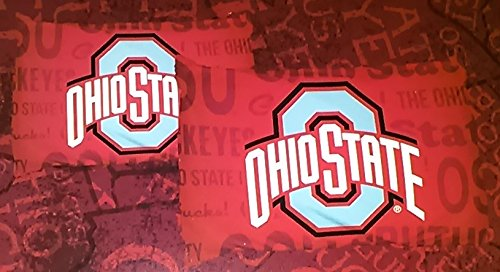 DarrellsWorld NCAA Ohio State 2 Pillow Cases 20