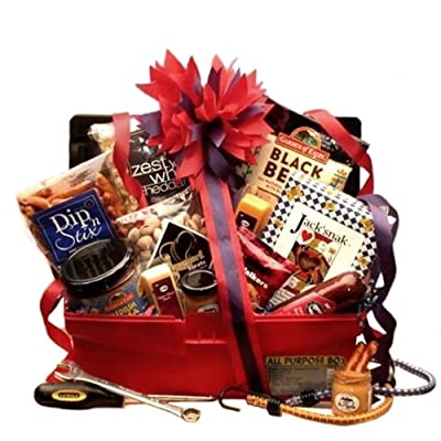 Gourmet Grilling Gift Basket for Men -Great Holiday, Birthday, or Father's Day Gift Idea!
