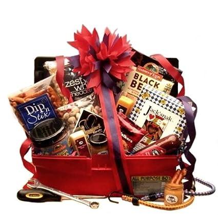 Gourmet - Cesta de regalo para hombre, ideal para vacaciones ...
