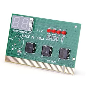 TOOGOO (R) tarjeta madre Tester Diagnóstico PC PCI Código errori ...
