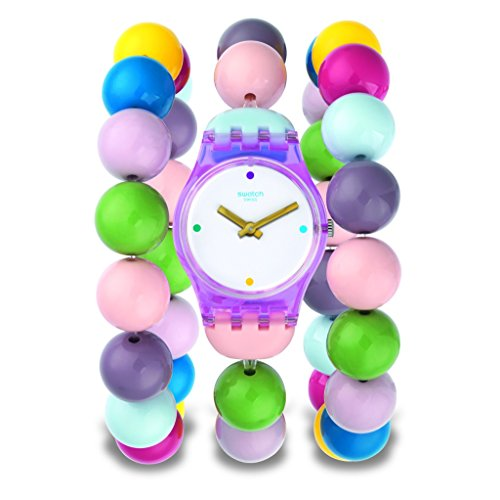 [Swatch] SWATCH watch LADY (Lady) PARTY BEADS S size LP148B Ladies [regular imported - S Swatch