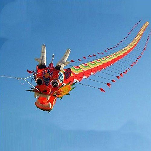 Chinses Traditional Dragon Kite Design Decoration Healthy Material And Printing , Can Rest Assured Competitive Price Are Always Available Reasonable by Kites