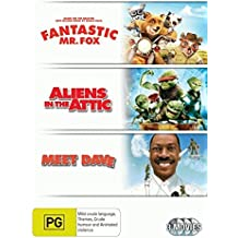 Aliens in the Attic / Fantastic Mr. Fox / Meet Dave | 3 Discs | NON-USA Format | PAL | Region 4 Import - Australia