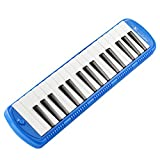 Swan 32 Keys Piano Molodica Musical Instrument with Carrying Bag,Blue