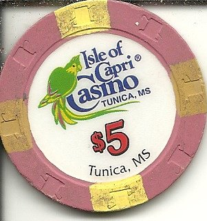 - $5 isle of capri hall tunica,mississippi casino chip obsolete riverboat?