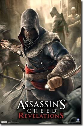 Amazon Com Imaginus Posters Assassin S Creed Revelations Xbox 360 Ps3 Video Game Poster 22 X 34 Inches Prints Posters Prints