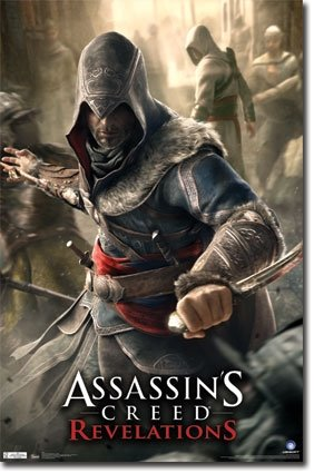 Assassin's Creed Revelations XBOX 360 PS3 Video Game Poster 22 x 34 inches