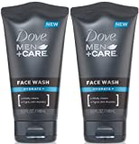 Facial Cleanser Dove - Dove Men+Care Hydrate + Face Wash 5.0 Fl 0z (Pack of 2)