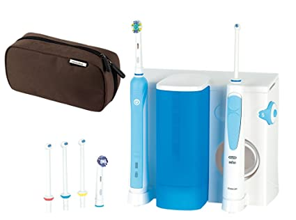 Oral-B - Pack dental: cepillo de dientes recargable e irrigador Professional Care Waterjet