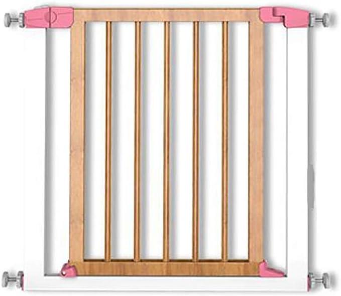 Puerta De Seguridad para Niños Puerta De Madera Maciza Barandilla Escalera para Mascotas Cerca del Perro Puerta De Aislamiento LEBAO (Color : A): Amazon.es: Hogar