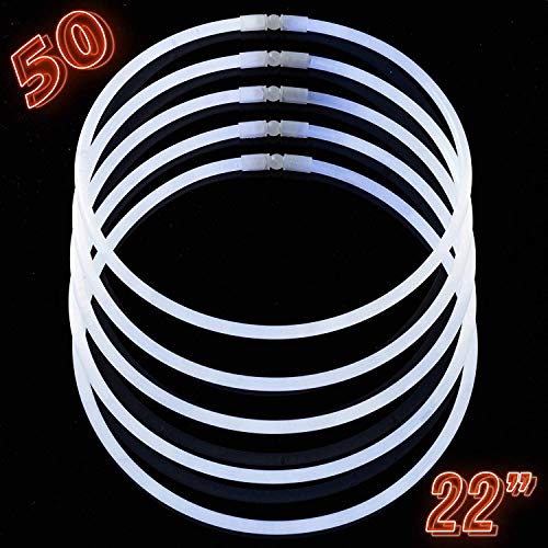 Glow Sticks White - Glow Sticks Bulk Party Supplies -