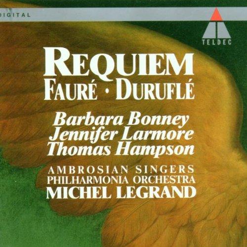 Fauré Duruflé: Requiem Bonney Legra Hampson; Larmore Selling rankings 5 popular