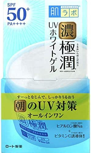 Japan Health and Beauty - Skin lab Gokujun UV white gel (SPF50 + PA ++++) 90gAF27