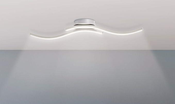 Plafoniera Bagno : Trango design moderno plafoniera a led applique da bagno