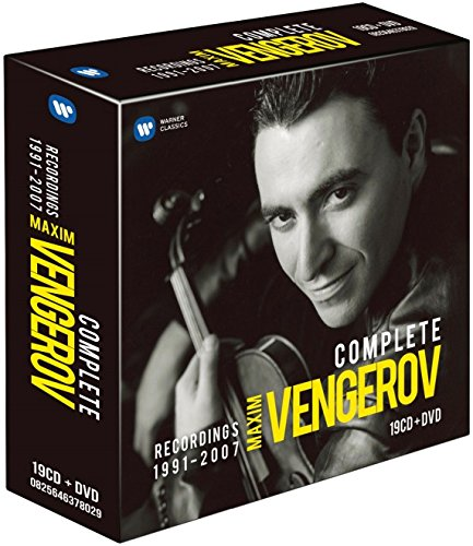 CD : Maxim Vengerov - Recordings 1991-2007 (With DVD, Boxed Set, 20PC)