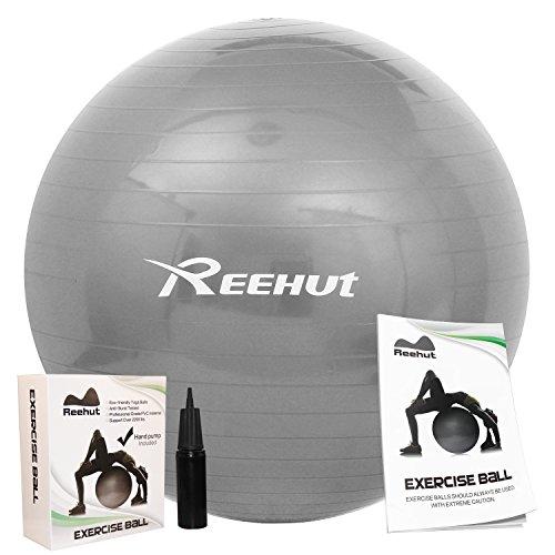 reehut-anti-burst-core-exercise-ball-w-pump-manual-for-yoga-workout-fitness-grey-75cm
