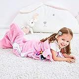 SINOGEM Unicorn Blanket for Kids Animal Sleeping