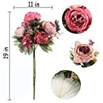 Luyue-Vintage-Artificial-Peony-Silk-Flowers-Bouquet-Home-Wedding-Decoration-Dark-Pink-Bud