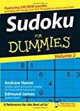 Sudoku For Dummies, Volume 2