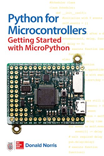 Book cover of Python for Microcontrollers: Getting Started with MicroPython by Donald Norris