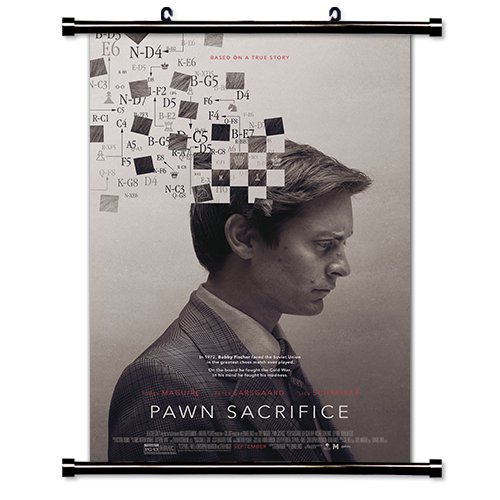 (Pawn Sacrifice Movie Fabric Wall Scroll Poster (16x24) Inches )
