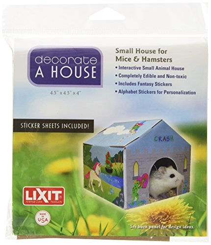 Lixit Corporation SLX0080 Small Animal Deco House, Small