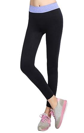 Bigood Legging Yoga Course Femme Vogue Pantalon Slim Élastique Sport  Outdoor  Amazon.fr  Vêtements et accessoires 501233067a1