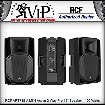 Amazon com: RCF ART-745A 2-Way Powered Speaker with 4