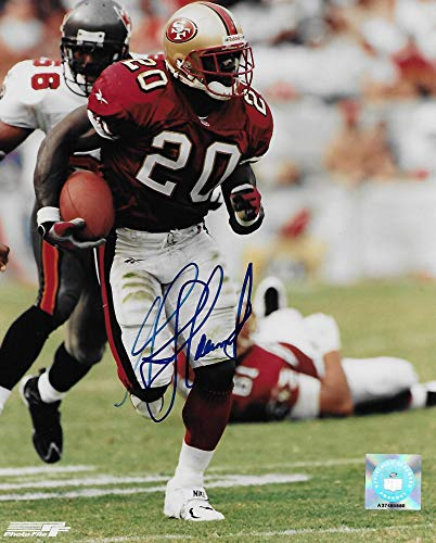 Garrison Hearst San Francisco 49ers signed autographed, 8x10 Photo, COA will be included'