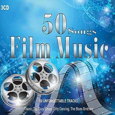 3 CD 50 bandas sonoras. Versiones instrumentales no originales realizadas por Orchestra o Piano o Guitarra acústica