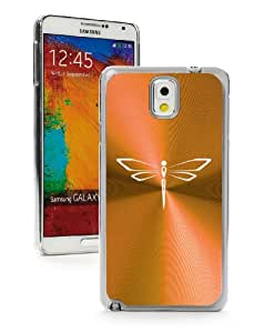 Samsung Galaxy Note 3 III Yellow Gold 3F102 Aluminum Plated Hard Case Dragonfly