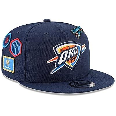 New Era Oklahoma City Thunder 2018 NBA Draft Cap 9FIFTY Snapback Adjustable Hat- Navy by New Era