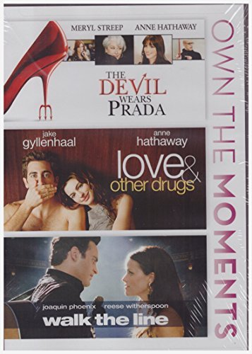 Devil Wears Prada/love and Other Drugs/walk the Line (Dvd, 2014, 3-disc Set) NEW