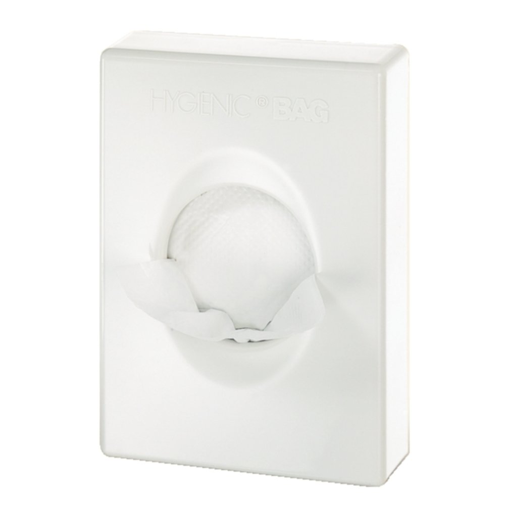 CB594 White Hygiene Bag Dispenser Non Branded