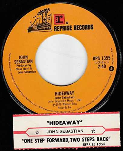 "Search : 45vinylrecord Hideaway/One Step Forward Two Steps Back (7""/45 rpm)"