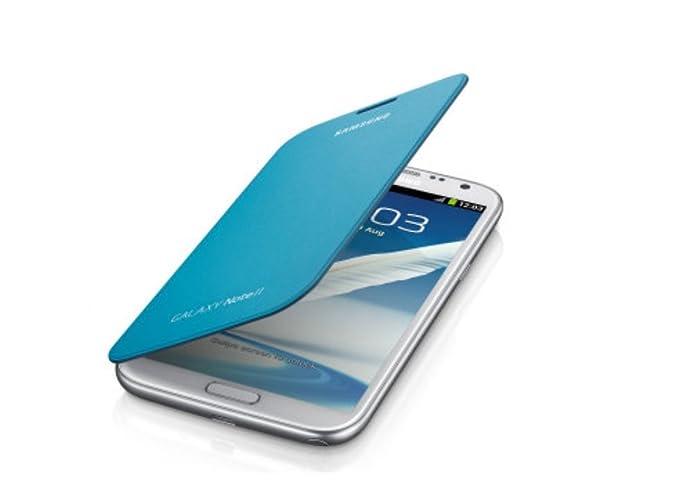 150 opinioni per Samsung EFC-1J9FSEGSTD Flip Cover per Galaxy Note 2, Blu